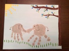 Elephant handprints 3