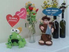 Casamentos - Santo Antonio, Sapo e Bouquet de Sapos