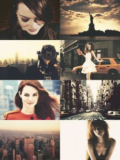 If Cities Were People Dreamcast — {Emma Stone as New York City}
