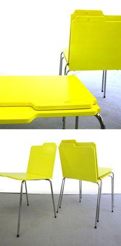 folder chairs from Studio Rita