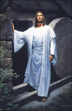 Praise be to the God and Father of our Lord Jesus Christ! In his great mercy he has given us new birth into a living hope through the resurrection of Jesus Christ from the dead. Christian Memes, Christian Art, Simon Dewey, Image Jesus, He Has Risen, Easter Story, Jesus Christus, Jesus Resurrection, Jesus Pictures