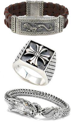 Emmy DE * Samuel B. Men's Jewelry