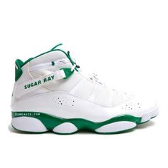 aa33850675b024 Air Jordan 6 Rings Ray Allen Boston Celtics Home Game Used PE  58.00 Air  Jordan Sneakers