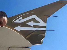 عودة طائرة للخطوط الليبية للعمل بعد اصطدام شاحنة بها
