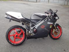 Ducati 748s (Dave Waterhouse). Really like the upgrades to make it look like a Senna.