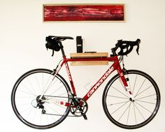 Hängeschränke - Fahrradregal - ein Designerstück von falkone bei DaWanda