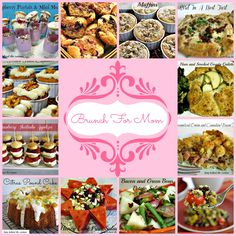 Lady Behind The Curtain - Brunch For Mom - This collection offers several Mother's Day brunch ideas.