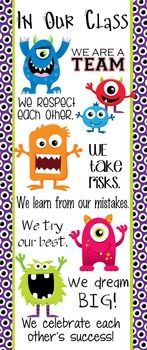 Image result for monster themed classroom
