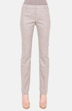 Akris 'Melvin' Stretch Tweed Pants available at #Nordstrom.... Want for work. But salary doesn't justify $900 pants.
