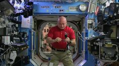 Leatherman tool spins weirdly on the ISS