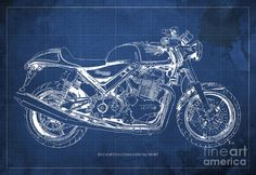 Blueprint drawing of a ss100 brough superior fine art of cars and blueprint drawing of a ss100 brough superior fine art of cars and motorcycles pinterest blueprint drawing and cars malvernweather Gallery