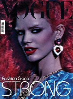 Vogue Italia - Vogue Italia November 2009 Cover