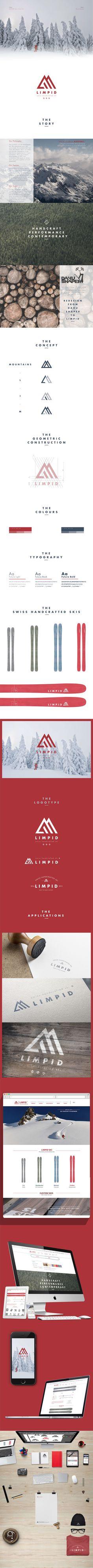 LIMPID Skis on Brand