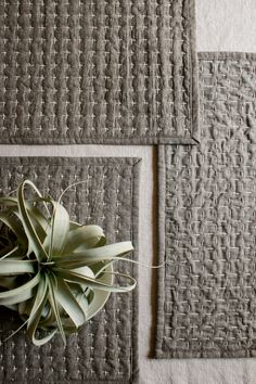 Molly's Sketchbook: Reversible Sashiko Placemats - Knitting Crochet Sewing Crafts Patterns and Ideas! - the purl bee