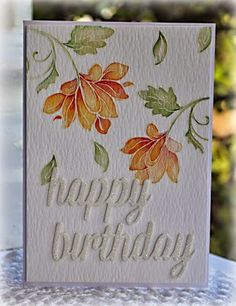 "Watercolour Floral Birthday card using the Altenew ""Persian Motifs"" Clear Stamp Set <a class=""pintag searchlink"" data-query=""%23rubberstamping"" data-type=""hashtag"" href=""/search/?q=%23rubberstamping&rs=hashtag"" rel=""nofollow"" title=""#rubberstamping search Pinterest"">#rubberstamping</a>"