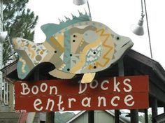 Boon Docks Restaurant under the West Bay Bridge in Panama City, Florida. My favorite restaurant in PC!! They are a little pricey but worth EVERY PENNY! I love this place!!!! Fabulous local seafood! Support eating from Florida!!