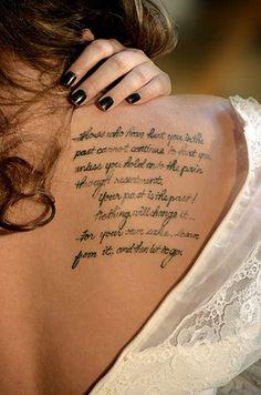 Shoulder Tattoo # 93
