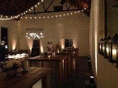 Great lighting is essential.  The main room transitioning between ceremony and reception.