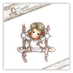 "Magnolia Stamps Little Moscow ""Ribbon Dance Tilda"" Rubber Stamp – Quick Creations"