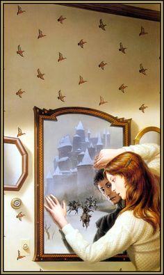 Michael Whelan - The Mirror of Her Dreams