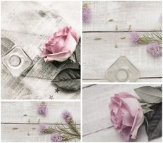 Found on my Patio Table this Afternoon by Beverly, I love this one too for its delicate mood in grey and pink