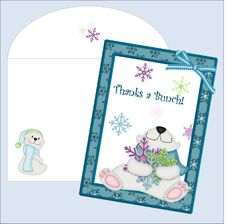 Thank You Cards ~ Free Printables