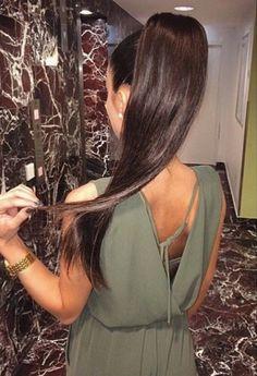 Pinterest @esib123 sleek high ponytail