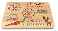 Heiligabend / hölzerne Leckerei Santa Plate Platter Board Place Informations About Christmas Eve / Wooden Treat Santa Plate, Platter Board, Place Mat – Personalisation Available Pin You can easily use … Its Christmas Eve, Christmas Wood, Christmas Projects, Kids Christmas, Holiday Crafts, Christmas Things, Wood Carving For Beginners, Christmas Information, Personalised Christmas Baubles