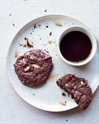 Chocolate-Pine Nut Cookies Recipe