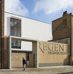 Fragments of architecture: Regent High School / Walters & Cohen
