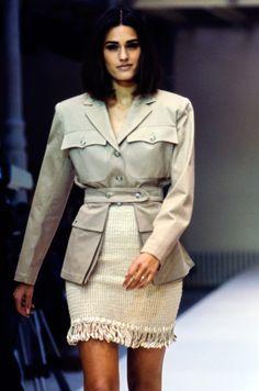 Yasmin Le Bon/ Azzedine Alaïa Spring 1990 Ready-to-Wear Collection - Vogue