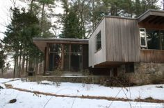 Chamberlain Cottage - Marcel Breuer - Great Buildings Architecture