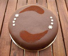 CHEZ LUCIE: Vanilkový dort s čokoládovým krémem s mučenkou - bez lepku a laktózy
