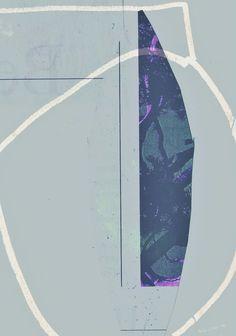 Stone - collage mila blau