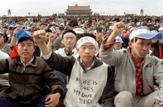Tiananmen Massacre in China. Over 2,000 people who were Pro-democracy demonstrators were killed by Chinese soldiers in 1989.