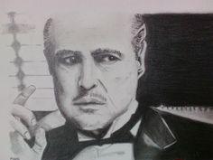 Dom Corleone em grafite!