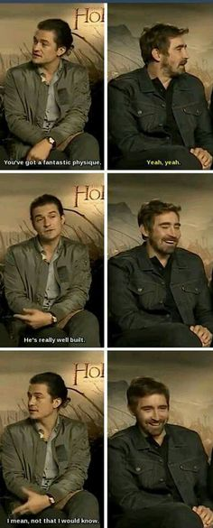 The Hobbit : the Battle of the Five Armies interview - Lee Pace and Orlando Bloom