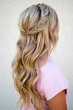 2. Frisuren mit Zöpfen für langes Haar