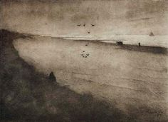 Scheveningen beach at night by Jan Mankes Landscape Art, Landscape Paintings, Landscape Drawings, Beach At Night, Dutch Painters, Dutch Artists, Beach Scenes, Beach Trip, Beach Travel