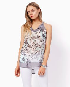 charming charlie | Angelique Floral Tank | UPC: 3000738722 #charmingcharlie