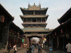 Pingyao ist eine zauberhafte Kleinstadt mit einer gut erhaltenen Altstadt und einer kompletten Stadtmauer.