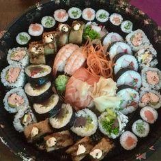 Tempura Sushi, Ethnic Recipes, Food, Meals, Yemek, Eten