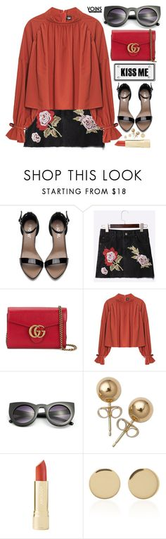 """Summer Romance... Yoins"" by pastelneon ❤ liked on Polyvore featuring Gucci, Bling Jewelry, Magdalena Frackowiak, yoins, yoinscollection and loveyoins"