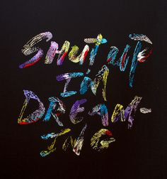 Shut up I'm dreaming / stunning embroidered work / Maricor Maricar