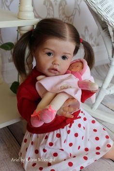 Reborn Toddler Doll Ariel by Joanna Kazmierczak Katrin McKnight