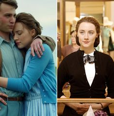 6 Gorgeous '50s Outfits to Look for When You Watch the Movie Brooklyn - Her rainbow of cardigans  - from InStyle.com