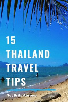 Headed to Thailand?  Be sure to check these 15 essential travel tips before visiting to make your trip easier!  #thailand #thailandtraveltips #traveltips #southeastasia #asia #phuket #chiangmai #thailandvisa #travel #travelblog