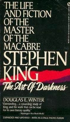 Love The Stacks - Stephen King: The Art of Darkness: The Life and Fiction of the Master of Macabre by Douglas E. Winter , $0.50 (http://www.lovethestacks.com/stephen-king-the-art-of-darkness-the-life-and-fiction-of-the-master-of-macabre-by-douglas-e-winter/)