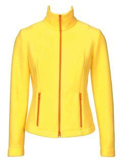 burda fleece zipper jacket