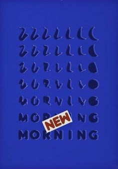 New Morning - Carnegie Mellon Swiss Poster Collection